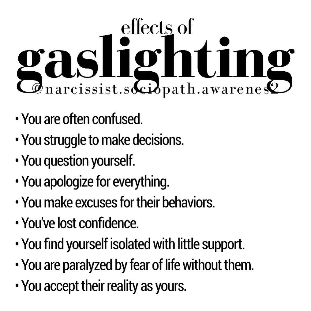 Gaslighting en trauma
